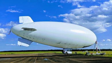 Photo of Blimp to launch from Hope Municipal Airport