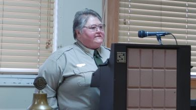 Photo of Historic Washington State Park Superintendent Speaks at Hope Lions Club