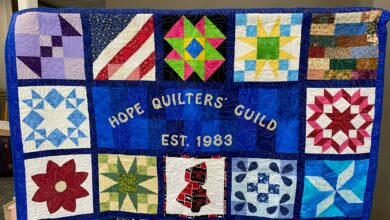 Photo of Quilt Show at Hempstead Hall Friday & Saturday