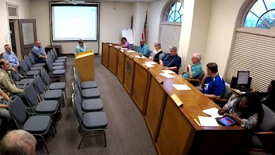 Photo of Public Requests and Updates Core of City Board Meeting