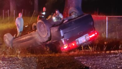 Photo of One Vehicle Accident, Serious Injuries