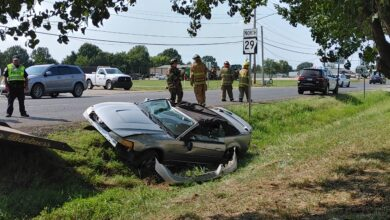 Photo of Wednesday Afternoon Accident, No Injuries