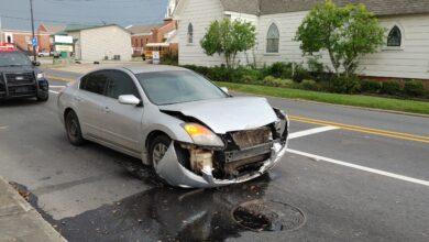 Photo of Third & Elm Street Accident, Minor Damage