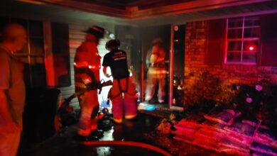 Photo of Residential Fire Causes Minimal Damage