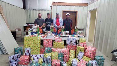 Photo of DeAnn Fire Department Brightens Christmas