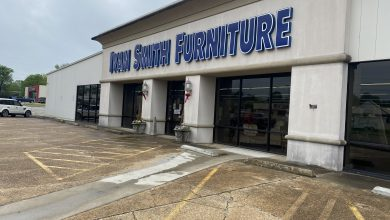 Photo of Ivan Smith Furniture Displays Shiny Red Ribbons, Open for Business