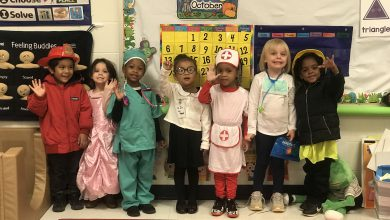 Photo of Clinton Primary Students Learn About Community Helpers