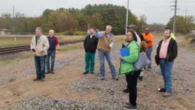 Photo of Board Tour Gives Members Firsthand Look at City's Progress