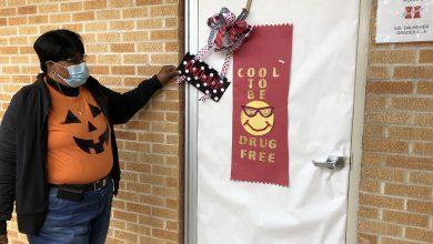 Photo of Red Ribbon Week Doors