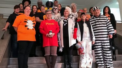 Photo of Courthouse Staff Gets in on Halloween Fun
