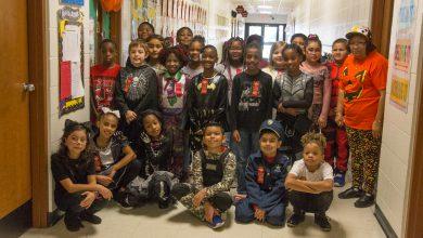 Photo of Hope Schools Show Their Halloween Spirit