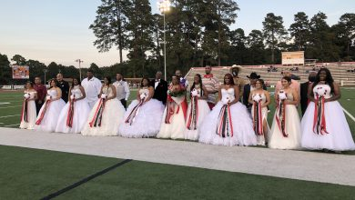 Photo of Homecoming Royalty Presented at HHS