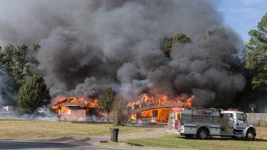 Photo of Fire Destroys Home in De Ann