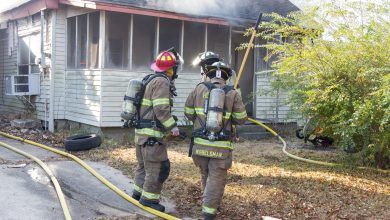 Photo of Firefighters Save Home in Weekend Fire