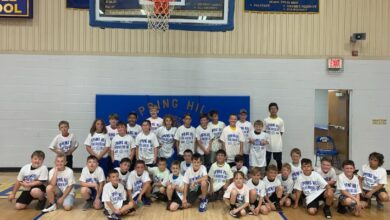 Photo of First Annual Spring Hill Elementary Boys' Basketball Camp
