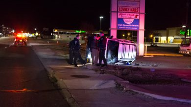 Photo of Man Grateful to Walk Away from Rollover on Hervey