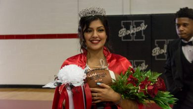 Photo of Daisy Aguilar Named HHS Homecoming Queen