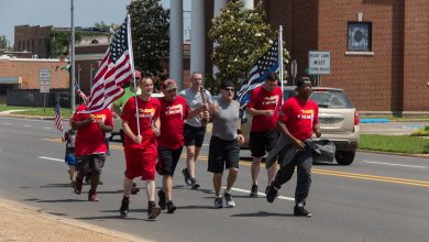 Photo of Local LEOs and Runners Take Part in Special Olympics Torch Run