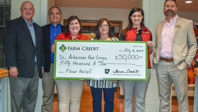 Photo of Farm Credit donates $50,000 to Arkansas Red Cross flood relief