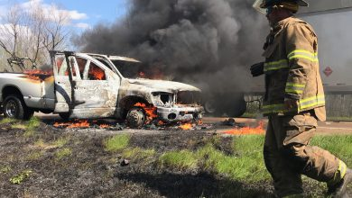 Photo of I-30 Traffic Hampered by Truck Fire