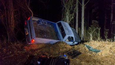 Photo of Backroad Rollover Results in DWI