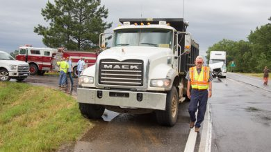 Photo of County Employee Injured in Crash with Semi