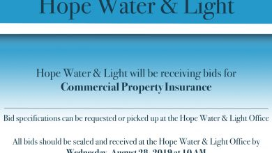 Photo of Hope Water & Light – Notice to Bid
