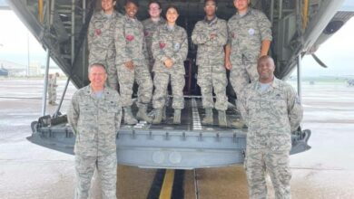Photo of Cadets complete leadership course