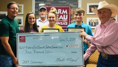 Photo of Hempstead County Farm Bureau 2019 Scholarship Recipients