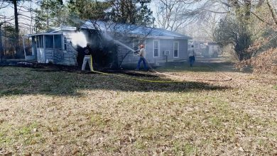 Photo of PPD & PFD Quickly Respond to House Fire