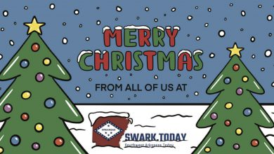 Photo of Merry Christmas from all of us at SWARK.Today