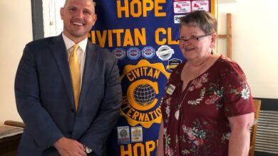 Photo of Crossley outlines vision to Civitan