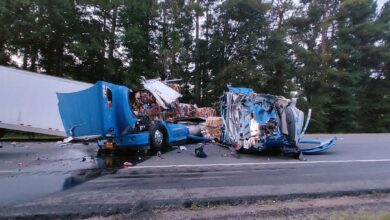 Photo of Major Accident Shuts down I-30 W