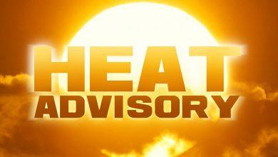 Photo of Heat Advisory from SUN 10:00 AM CDT until SUN 7:00 PM CDT