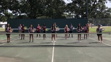 Photo of Tennis team developing