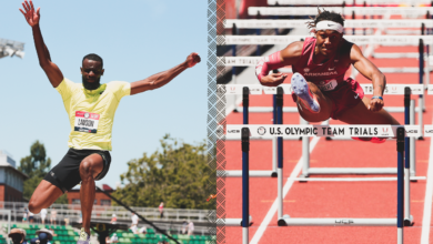 Photo of Lawson qualifies for Olympic Trials long jump final, Gilbert advances to 110H semifinal