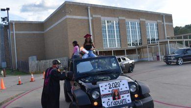 Photo of Diploma Drive Through at HHS