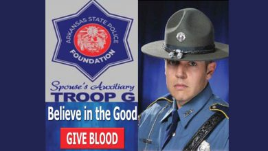 Photo of ASP Holding Blood Drive in Honor of Cpl McWilliams