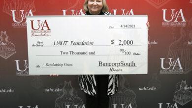 Photo of UA Hope-Texarkana Receives BancorpSouth Grant