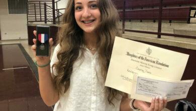 Photo of Prescott 8th grader wins national essay content