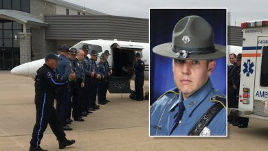 Photo of Trooper McWilliams Flown to Houston for Next Phase of Recovery