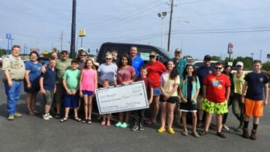 Photo of Hope Auto Hosts Car Wash Fundraisers for Troop 5