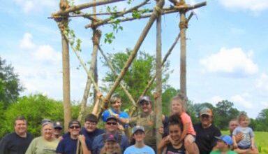 Photo of Troop 5 pioneering & Orienteering Campout
