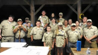 Photo of Scout Troop 5 Summer Camp at Kinsey Scout Reservation