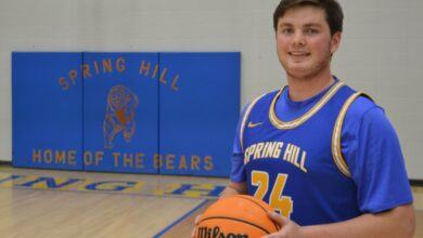 Photo of Spring Hill's Matthew Bruce Selected For All-Conference
