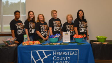 """Photo of Hempstead County Library Gets """"Wild"""" At The Chamber Community Coffee"""