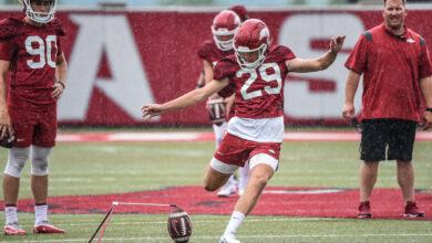 Photo of Cam Little Adjusting to Hogs