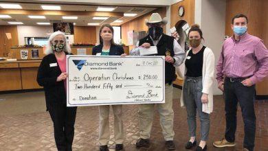 Photo of Diamond Bank Donates $250.00 to HCSO