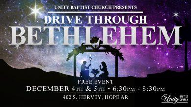 Photo of Drive Through Bethlehem at Unity Baptist Church This Weekend