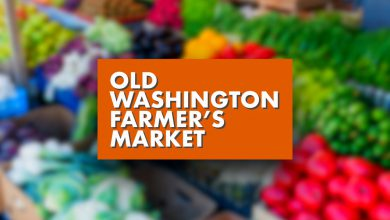Photo of Old Washington Farmers' Market Saturday, May 29th, 2020